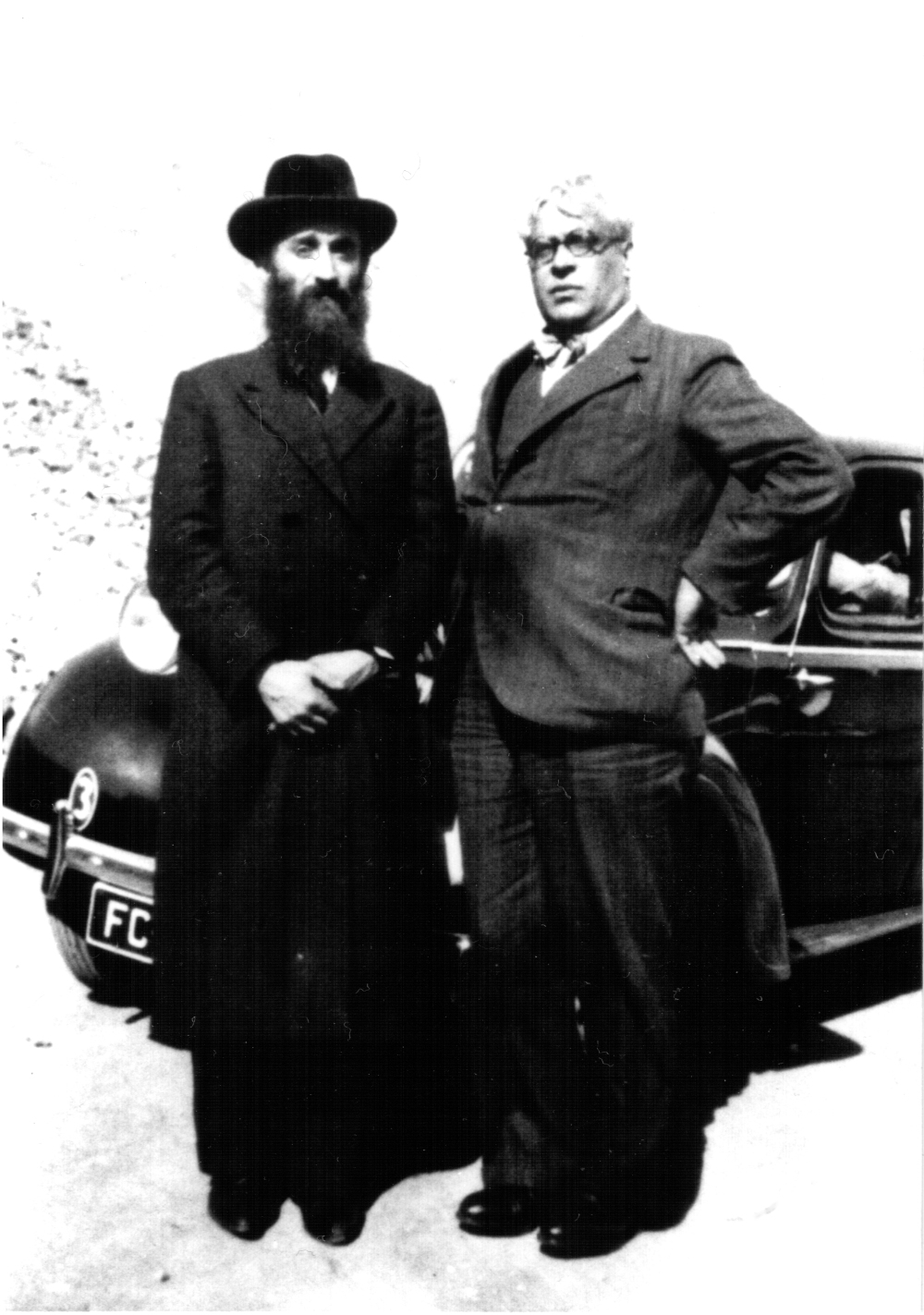 Rabbi Chaim Kruger & Aristides de Sousa Mendes